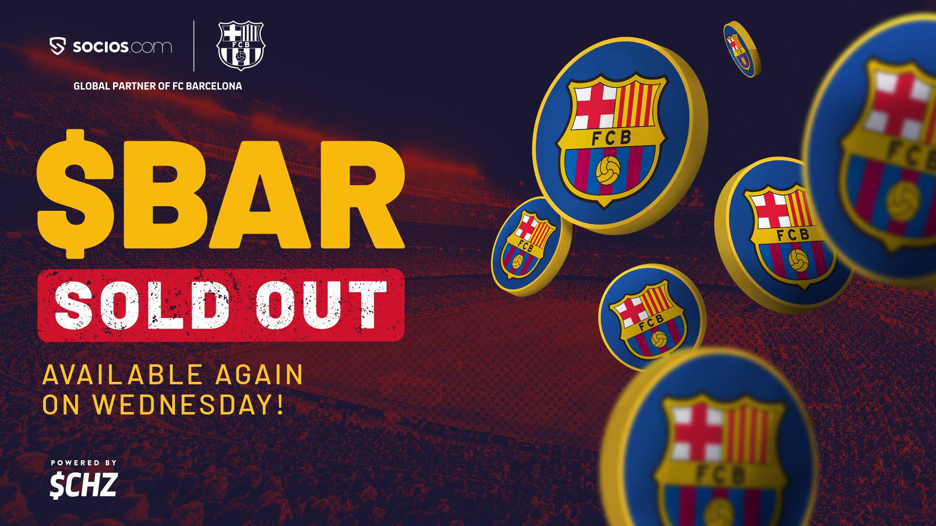 fc barcelona bar fan token sells out in less than two hours generating 1 3m socios fc barcelona bar fan token sells out