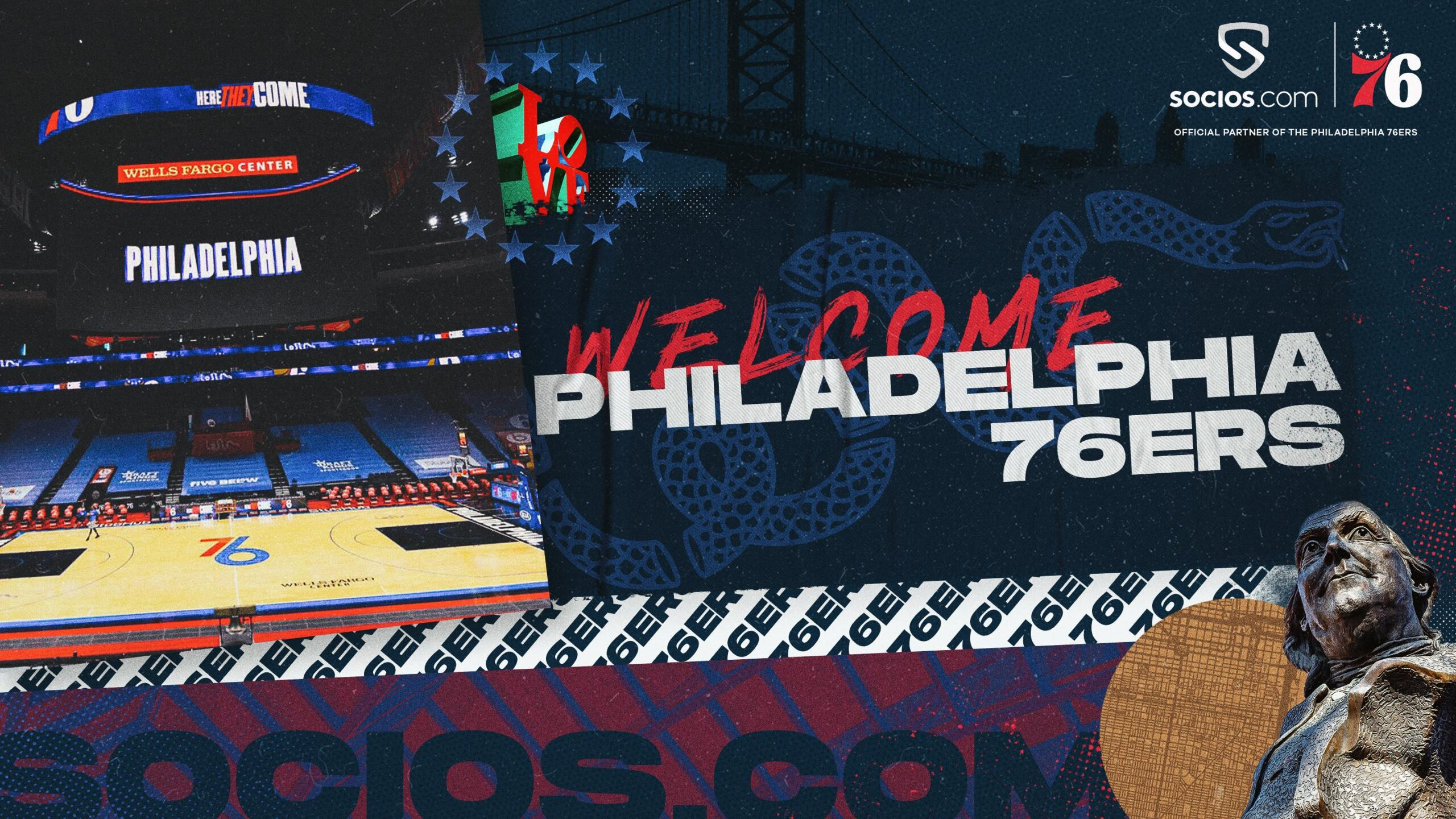 Philadelphia 76ers Become The First NBA Franchise To Partner With Socios.com - Socios